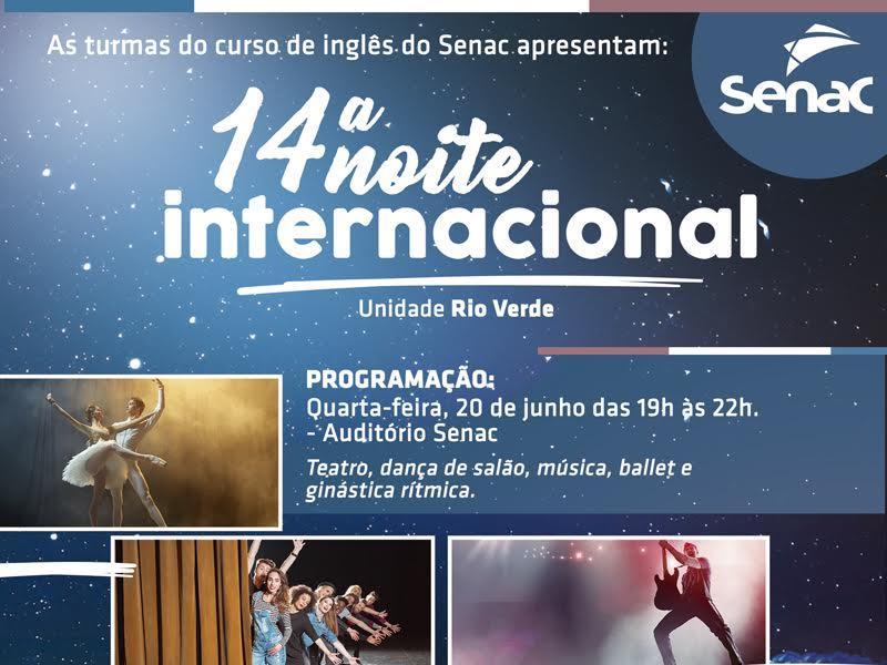 14° Noite internacional
